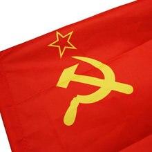 CCCP flag russian Union of Soviet Socialist Republics FLAG 90*60 CM USSR Festival USSR Home Decoration pennants