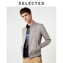 選択された男性の綿ブレンド野球襟生き抜くニューライトジャケット秋コートs