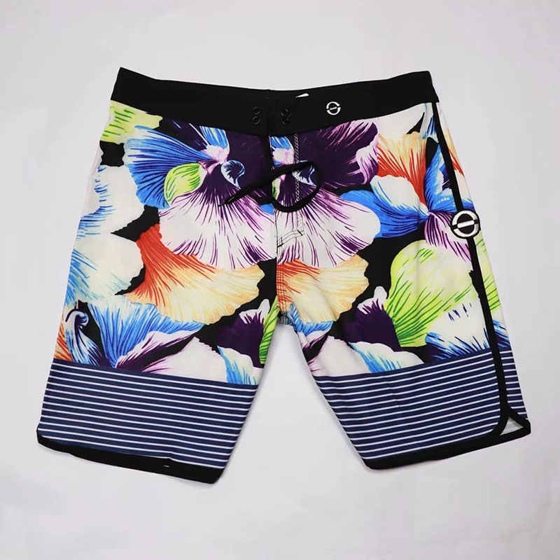 New Thin Water Repellency High Stretch Summer Shorts Men Board Shorts Swimwear Men Beach Shorts Men Bermuda Short Boardshorts