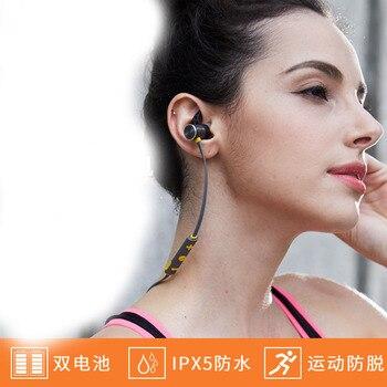 wireless Bluetooth sports headset long standby ear type universal waterproof in ear type