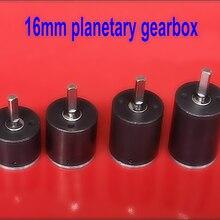 16 мм планетарный редуктор, передача промышленной автоматизации, i = 19: 1, модуль m = 0,3
