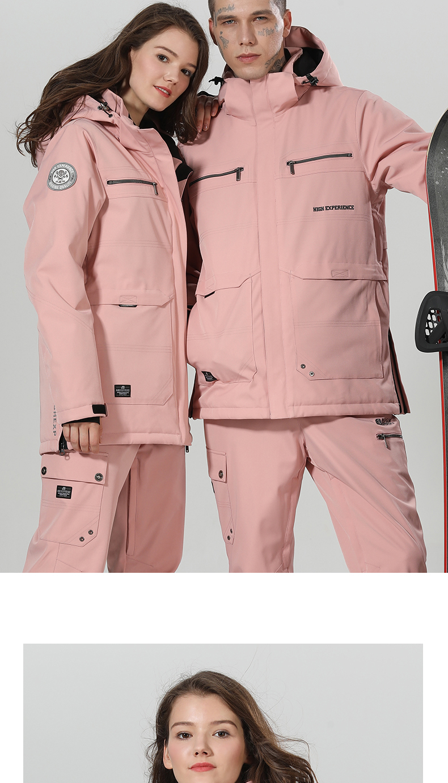 jaqueta de esqui de neve calças define