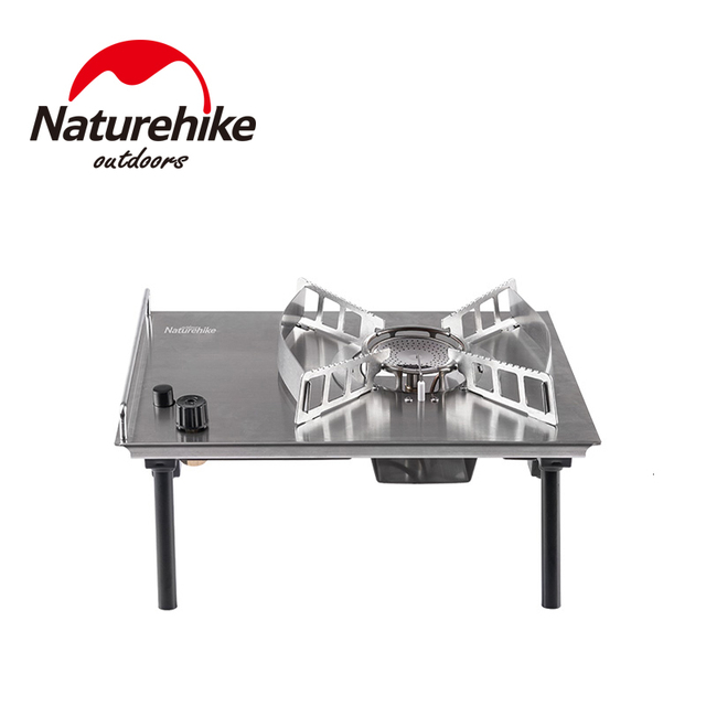 Naturehike 2019 New Outdoor Desktop Stove Cassette Furnace Portable Stove Wild Barbecue Oven Card Magnetic Furnace BBQ Gas Stove