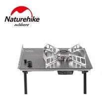 Naturehike estufa de escritorio para exteriores horno de Cassette, portátil, para barbacoa salvaje, horno magnético con tarjeta, para barbacoa, novedad de 2019