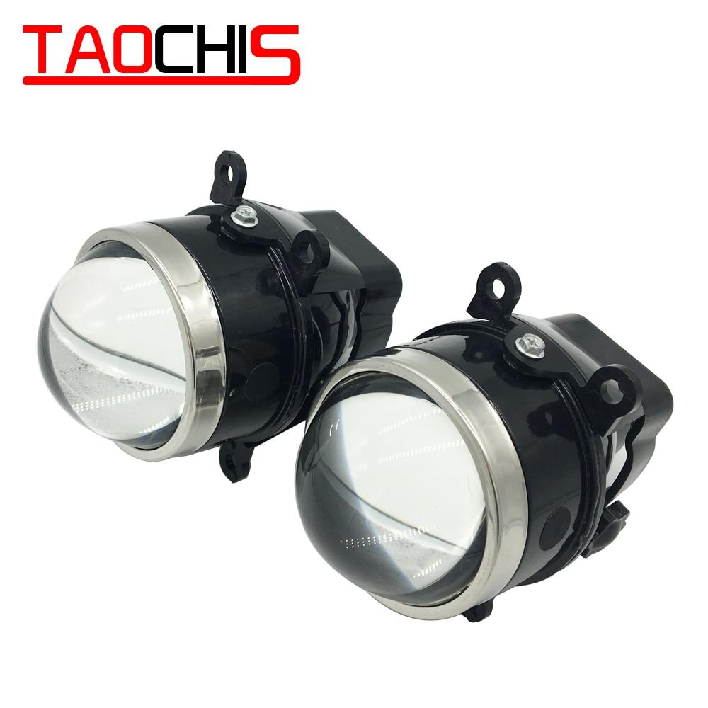 TAOCHIS Bi Xenon HID Проектор протитуманні фари 3,0-дюймовий доопрацьований світильник для MITSUBISHI PAJERO SUBARU CITROEN DACIA RENAULT FORD Focus