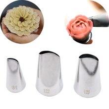 Coreano bico de tubulação 3 estilos flor boca confeiteiro confeiteiro dicas pastelaria sugarcraft cupcake decorador cozinha bakeware ferramentas