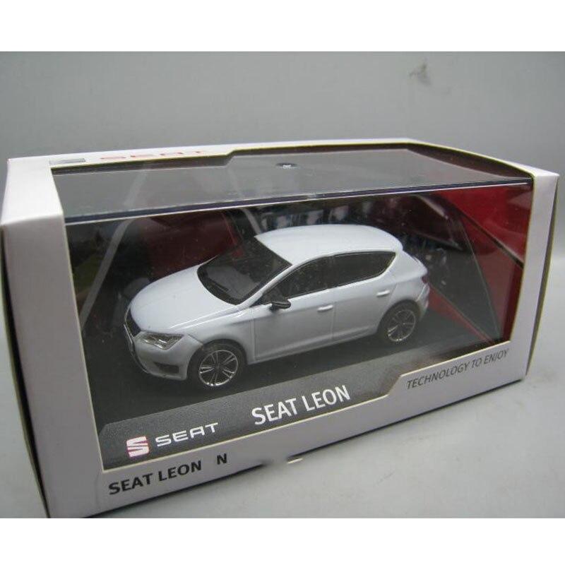 컬렉션을위한 1/43 스케일 시트 레온 자동차 모델 장난감 다이 캐스트-에서다이캐스트 & 장난감 차부터 완구 & 취미 의  그룹 3