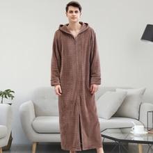Unisex Men Cotton Nightgown Summer Kimono Robe Bathrobe Gown Women Casual Sleepwear Solid Color Home Clothes Loose Nightwear