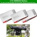 2 шт. 3 шт. 4 шт. 3 7 в 2000 мАч батарея Fo S32 S-32 F68 Дрон 4k HD 1080p WiFi fpv Дрон высота keep hover Квадрокоптер запасные части