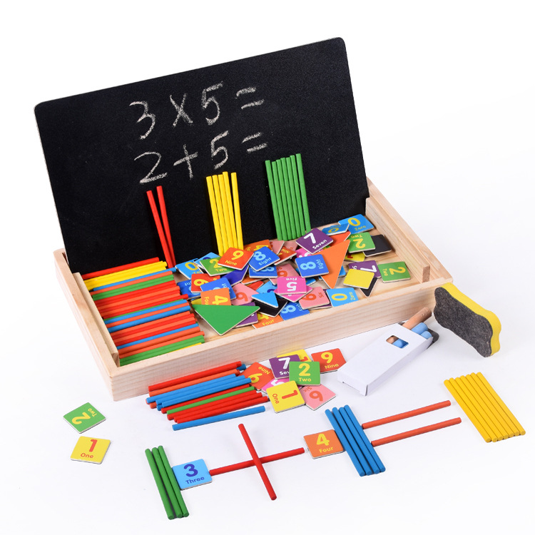 Magnetic Multi-functional Educational Toy Men And Women Baby Mathematics Early Education Writing Board Children'S Educational Ea