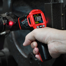Infrarood Thermometer Digitale Weerstation Hygrometer Temperatuur Meter Vochtigheid Ambient Meter Laser Thermometre