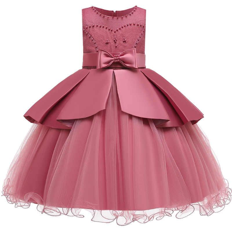 Romantico da Sposa Ragazza di Fiore Gruppo Damigella D'onore Prestazioni Vestito Petalo Ragazza Festa di Compleanno di Scambio Prima Vestidos Vestito