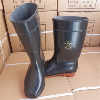 Chemical resistant boots PPE safety shoes women lady men's safety shoes acid and alkali resistant non-slip work boots