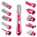 Электрическая расческа 10 в 1  многофункциональные щипцы для завивки волос  инструмент для укладки  сушилка  набор  щипцы для завивки
