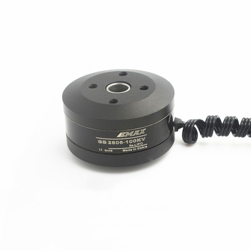 New EMAX GB2806 <font><b>100KV</b></font> RC Electric Gimbal <font><b>Brushless</b></font> <font><b>Motor</b></font> <font><b>Motor</b></font> Hollow Shaft <font><b>100KV</b></font> 95T for Toy FPV QAV250 Multirotor Quadcopter image