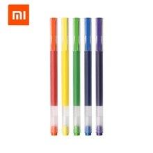 Xiaomi Mi High-capacity Ink Color Pen Colors Mi Pen 0.5mm Gel pen Signing Pens For School Office Drawing