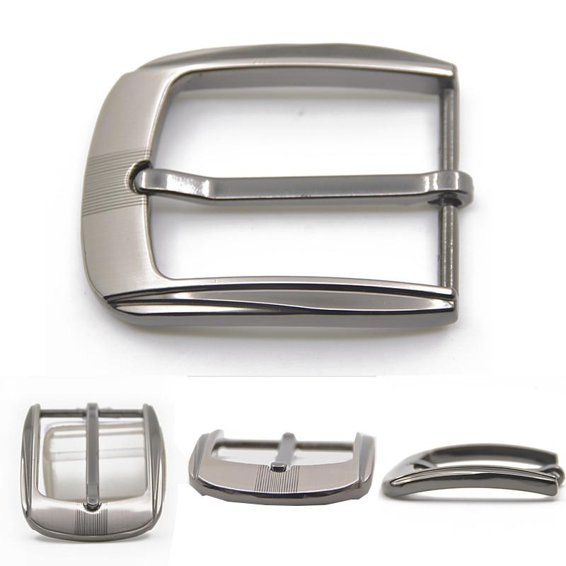 35mm Belts Metal Pin Buckle DIY Waistband Buckles Belt Leather Craft Buckle Black Silver Bronze Men's Solid Buckle Accessories