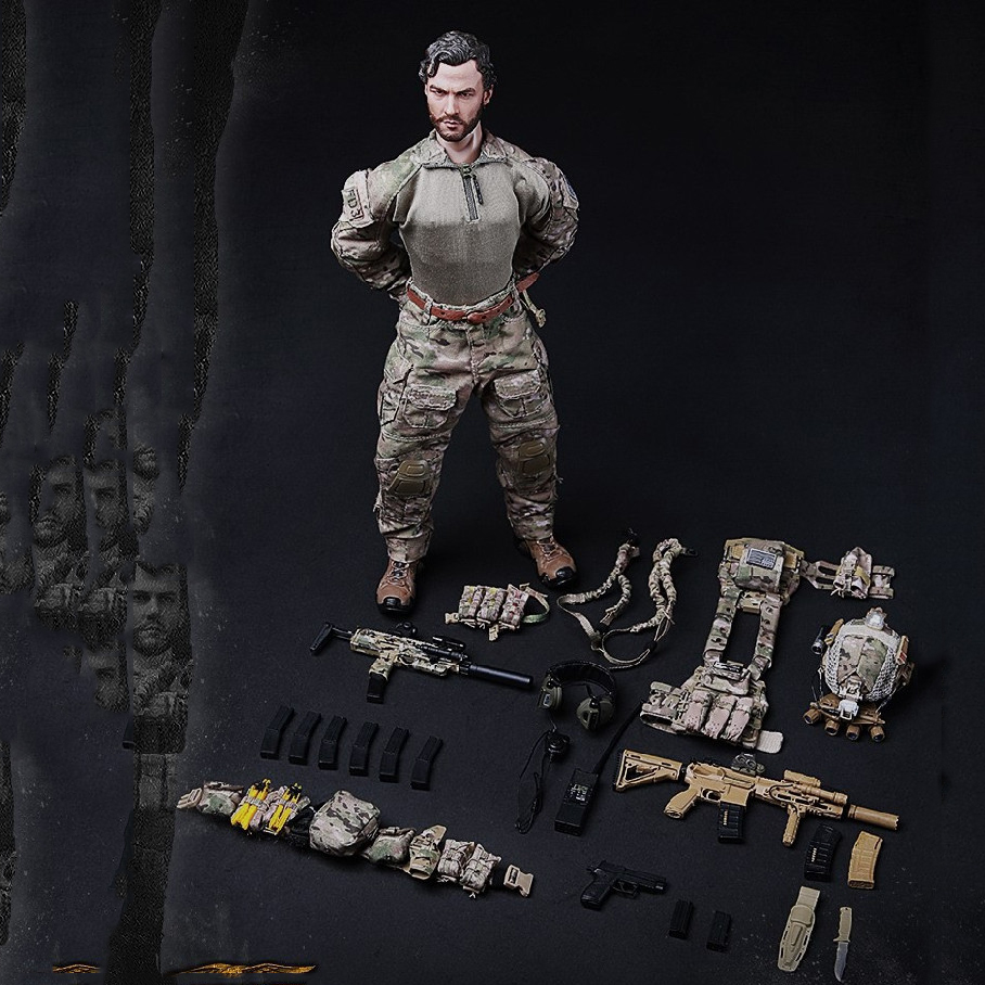 mini times toys M005 M010 M011 M012 M013 M014 1/6 Navy Special Forces Seal Team  Figure Full Set Collection Doll Toys Gift 1