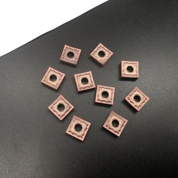 100% Original 10PCS SNMG120404 HA PC9030 CarbideInserts CNC Lathe Tool TurningTool For Stainless Steel High Quality wnmg080404 wnmg080408 ha pc9030 inserts 100