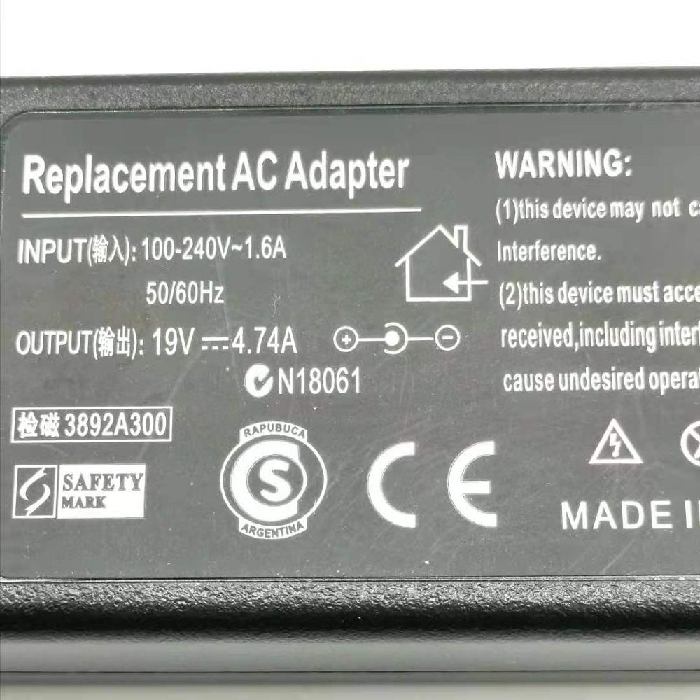 HSW 19V 4.74A 90W 5.5*1.7mm POWER SUPPLY AC Adapter Laptop Charger for Acer Aspire 5742G 5745G 5750G 5755G 5920G 5951 5