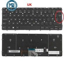 Clavier pour Dell Precision M3800 XPS 15 9530 avec mise en page UK rétro éclairage