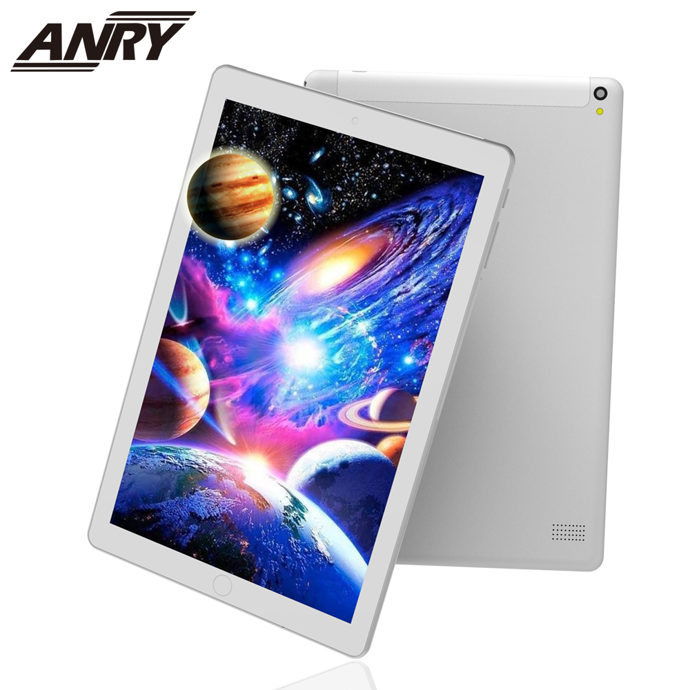 ANRY 1006 Tab 10.1 Inch Touchscreen 64 GB Tablet 4 GB RAM Wifi GPS Android OS Metal Case 4G Phone Call Tablet Pc Dual Camera