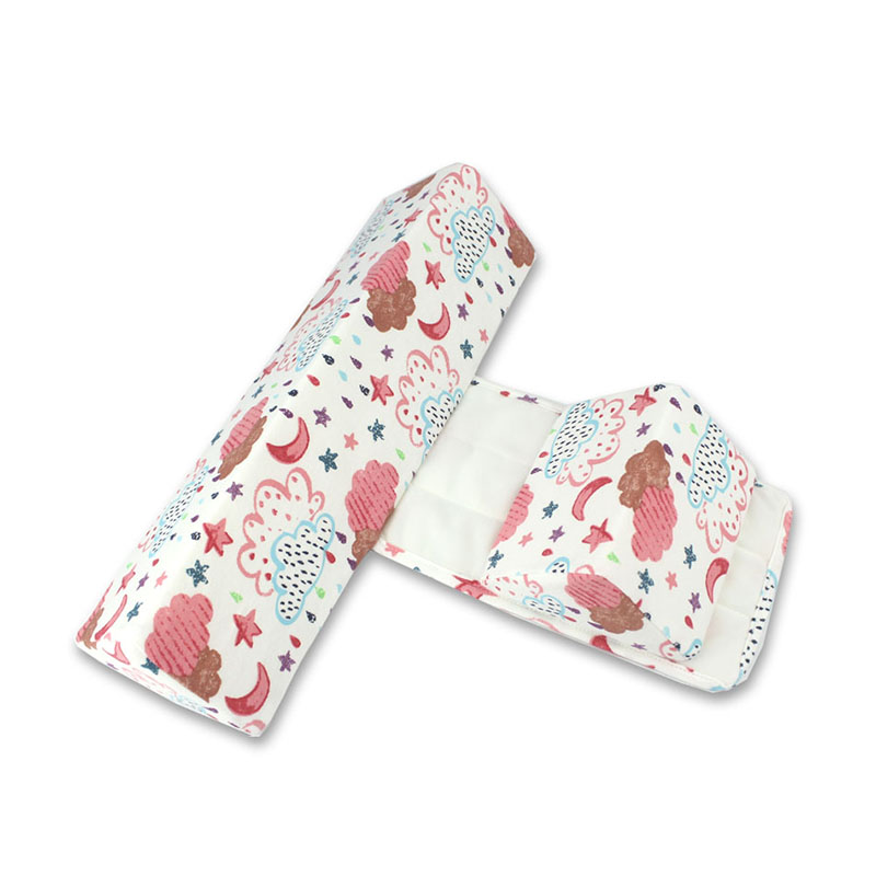 Baby Pillow Side Sleeping Pillow Adjustable Support Newborn Sleeping Position Correct Shaping Prevent Rollover Spit Milk
