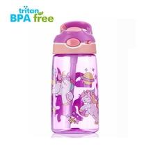 Sports Water Bottle Outdoor Travel Portable Leakproof Drinkw