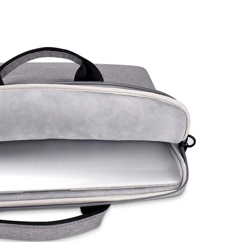 ラップトップスリーブケース保護ショルダーバッグノートブック用のキャリングケース 13 14 15.6 インチの macbook air ASUS エイサーレノボ dell