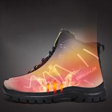 Big Size 48 Men Snow Walking Shoes Non-slip Wearable Autumn Winter Thermal Sneakers Boy Outdoor High-top Trekking Sport shoe Hot