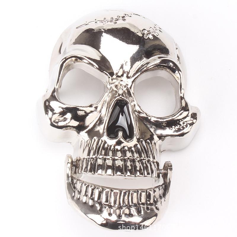 Skull Skeleton Belt Buckle Belt DIY Accessories Western Cowboy Style Smooth Belt Buckle Punk Rock Style K18