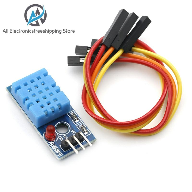 Smart Electronics DHT11 Temperature And Relative Humidity Sensor Module For Arduino DIY KIT