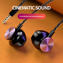 In-ear 3.5mm Wired Earphone Metal Sport Music Headset with Microphone 4D Stereo Wired Earphones for Iphone Samsung Xiaomi icoque 3 5mm in ear earphone hifi music headphone metal earbud wired stereo earphones with microphone for iphone 6 phone mp3 pc