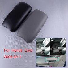 DWCX 33x16.7 cm Car Front Center Console Armrest Cover Case Lid Fit for Honda Civic 2006 2007 2008 2009 2010 2011 стоимость