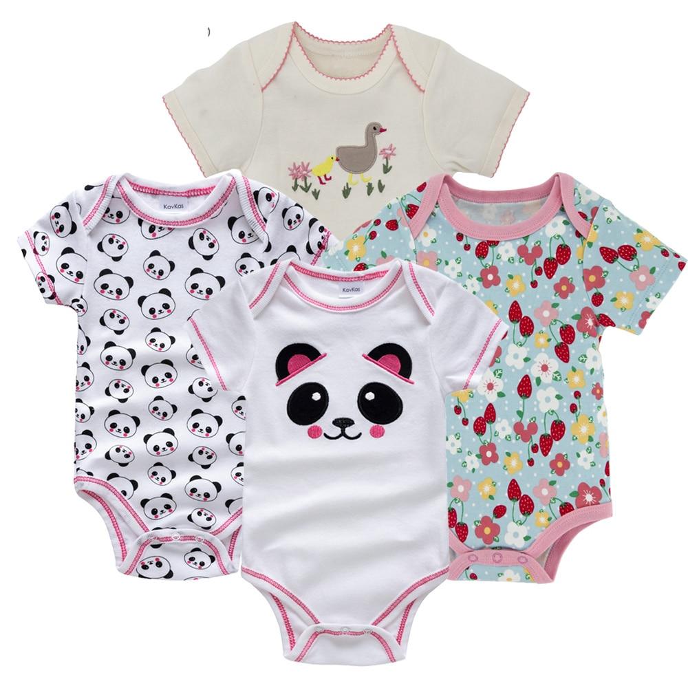 Honeyzone Пижама для младенцев 4 шт./компл. короткий рукав новорожденных Пижама для маленьких мальчиков/младенцев Одежда для маленьких мальчиков bossa nova - Цвет: HY21662168
