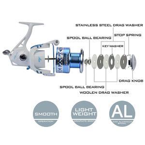 Image 5 - KastKing yaz 10BBs İplik balıkçılık Reel Max sürükle 8KG süper hafif iplik makarası seyahat balıkçılık 500 ila 5000 serisi