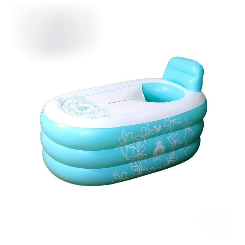 Adults Portable Inflatable Bathtub Thick Whole Body Foldable Bathtub Artifact Large Salle De Bain Household Merchandises DI50YP