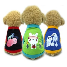 Get more info on the 2019 pet clothing autumn and winter dog Teddy doll small and medium dogs plus velvet sweater cute warm thick dog clothes XS-XL