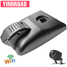 YIMIROAD TYT01-D WIFI Car Dvr Camera For Toyota Camry XV70 XLE V70 70 ASV-70 SE Hybrid 2018 To 2020 Y Dual Lens Video Recorders(China)