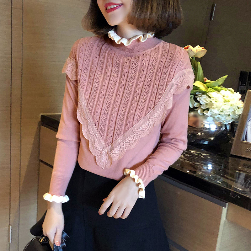 Sweater Women's 2020 Black Turtleneck Pullover Korean Autumn Winter Tops Sweaters And Pullovers Pull Femme Hiver KJ1707 S S