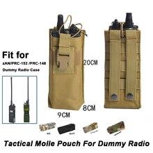 Molle-Pouch Radio-Case Tactical-Bag Softair-Accessories Dummy PRC-152/148 Walkie-Talkie