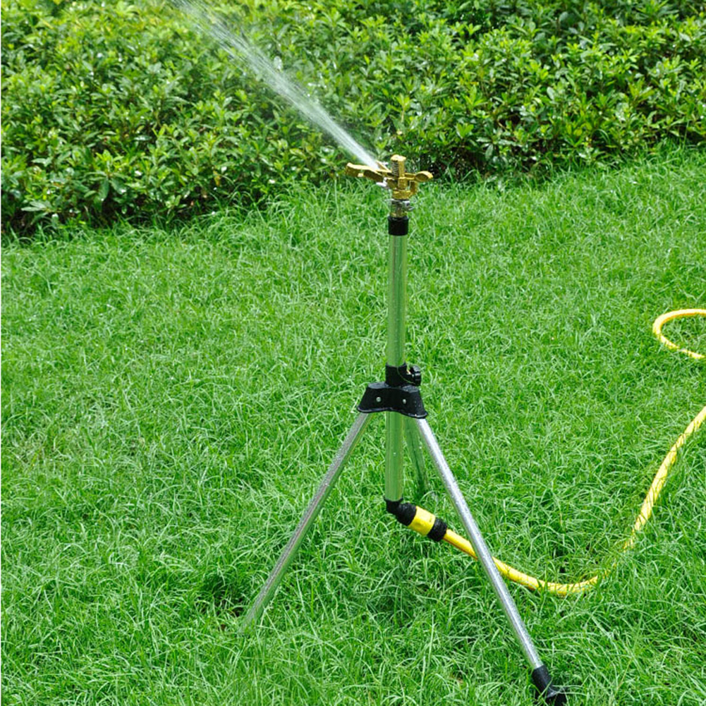 Garten Pflanze Bewässerung Stativ Rasen Sprinkler Bewässerung System 45-90cm Einstellbare Dreieckige Halterung Garten Sprinkler Sprayer