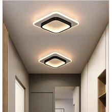 LICAN plafoniere a LED moderne per camera da letto comodino corridoio corridoio balcone ingresso moderna lampada da soffitto a LED per la casa