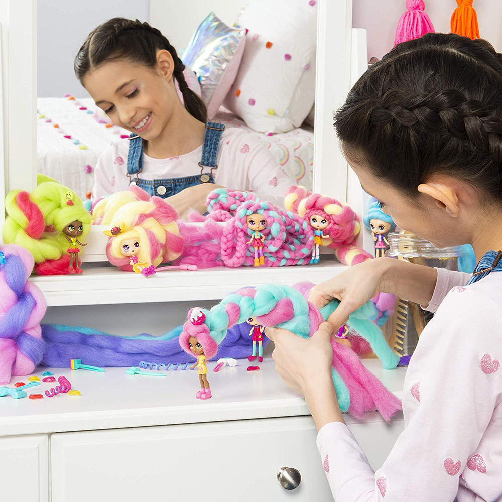 1PC Cute Candylocks Sweet Treat Toys Hobbies Dolls Accessories Hair 40cm Surprise Hairstyle With Scented Doll For Girl Gift