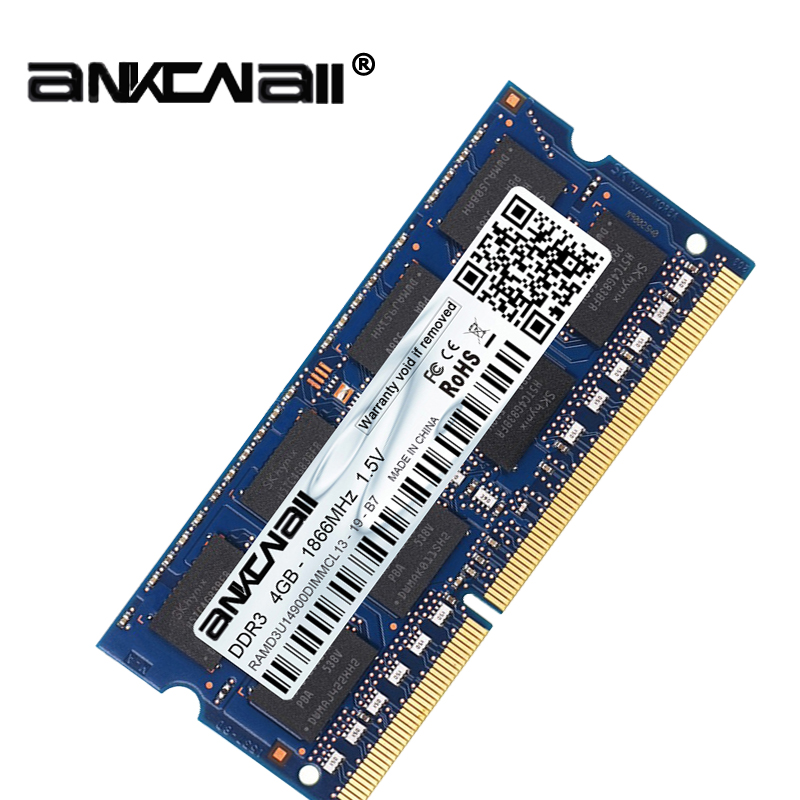 New DDR3L 4GB /8G Laptop RAM Memory For Intel System High Compatible 3