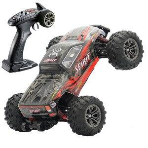 Image 2 - Бесщеточный автомобильный двигатель RC Drift, бесщеточный ESC 2,4G RC автомобиль 4WD 52 км/ч, скоростная Багги монстр грузовик, Антивибрационная игрушка для дрифта