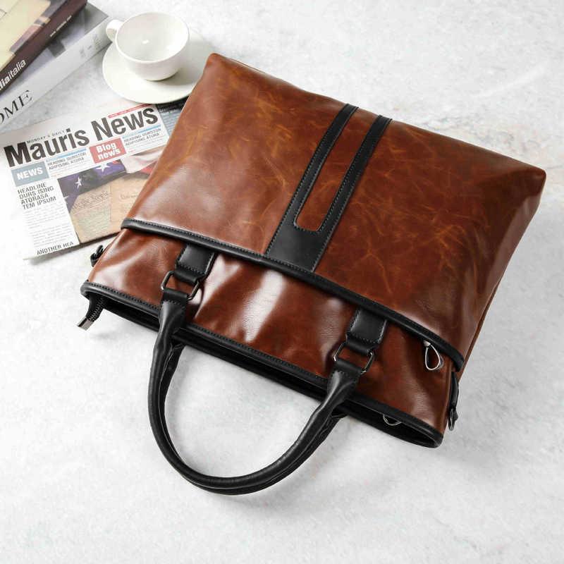 Newhotstacy Bag 091019 Men S Bags Business Casual Bag Single Shoulder Bag Briefcase