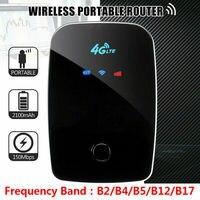 Router 3G 4G sbloccato Mini 150Mbps Stick Modem 4g Mifi Mim Mard Mobile portatile Sim Wifi Hotspot a banda larga Usb Mifi Dongle