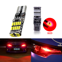 2PCS For Audi A3 A4 B8 A6 Q5 C7 8v B5 Mercedes Benz W203 W204 W205 W124 W212 AMG Car License Plate Trunk Hight Light 26 LED T10