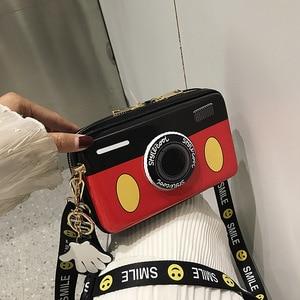 Женская сумка-мессенджер из искусственной кожи, сумки через плечо с персонажами из мультфильмов и милым бантом, сумка на плечо для девочек-подростков, модная повседневная сумка, сумка 0021